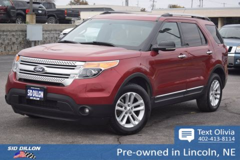 Pre-Owned 2013 Ford Explorer XLT 4WD SUV