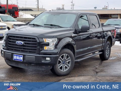 Pre-Owned 2015 Ford F-150 XLT 4WD Crew Cab