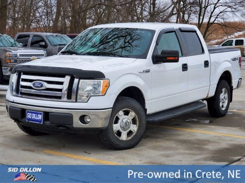 Pre-Owned 2010 Ford F-150 XLT 4WD Crew Cab