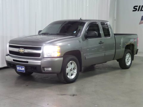Pre-Owned 2009 Chevrolet Silverado 1500 LT 4WD Extended Cab