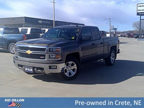 Pre-Owned 2014 Chevrolet Silverado 1500 LT 4WD Extended Cab