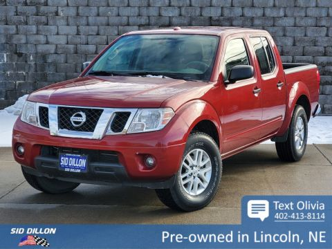 Pre-Owned 2014 Nissan Frontier SV 4WD Crew Cab
