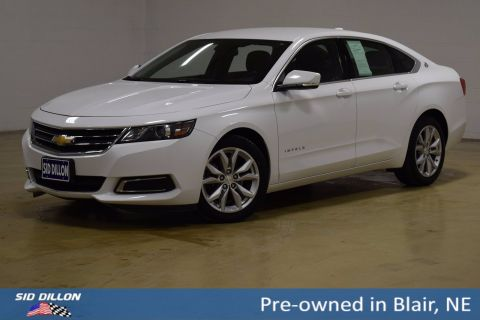 Pre-Owned 2017 Chevrolet Impala LT FWD 4 Door Sedan