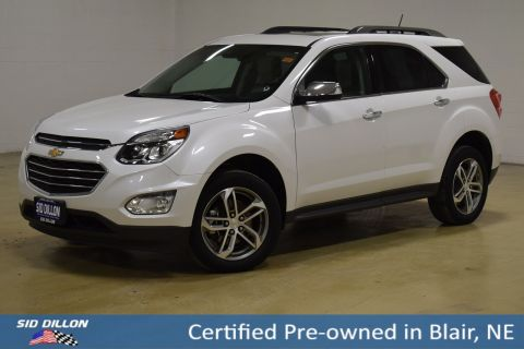 Pre-Owned 2017 Chevrolet Equinox Premier AWD SUV
