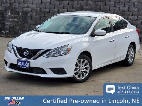Pre-Owned 2018 Nissan Sentra S FWD 4 Door Sedan