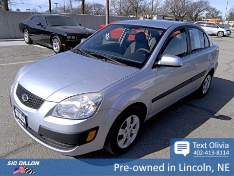 Pre-Owned 2009 Kia Rio LX FWD 4 Door Sedan