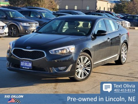Pre-Owned 2015 Kia Cadenza Premium FWD 4 Door Sedan